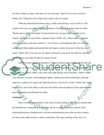 noble a summary essay Don't look behind you study guide consists of approx 37 pages of summaries and analysis on don't look behind you by lois duncanthis study guide includes the following sections: plot summary, chapter summaries & analysis, characters, objects/places, themes, style, quotes,.