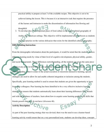 Final Application Assignment essay example