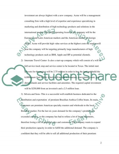 Financial Decision Making essay example