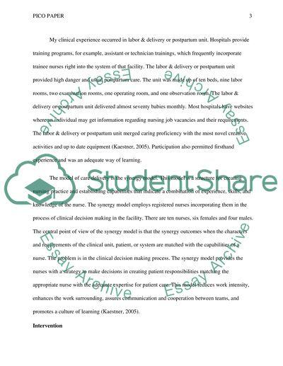 Dissertation nursing education