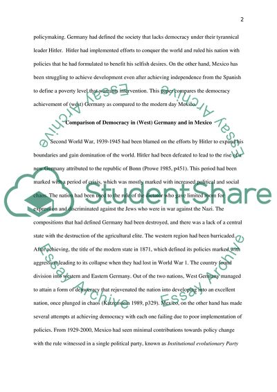 Persuasive Essay Samples High School Why Did West Germany Experience A Smoother Consolidation Of Democracy  After World War Two How To Write A Proposal Essay Outline also Thesis Statement For Comparison Essay Why Did West Germany Experience A Smoother Consolidation Of Essay Essay About Science And Technology