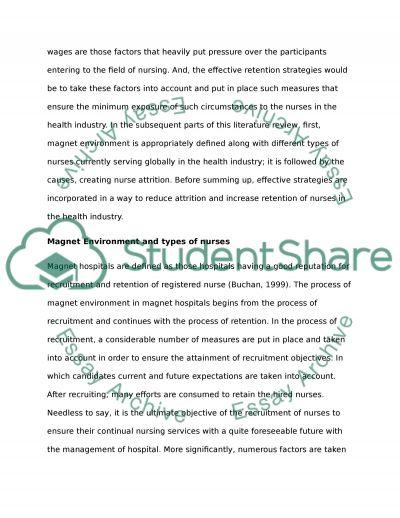 Essay on nurses