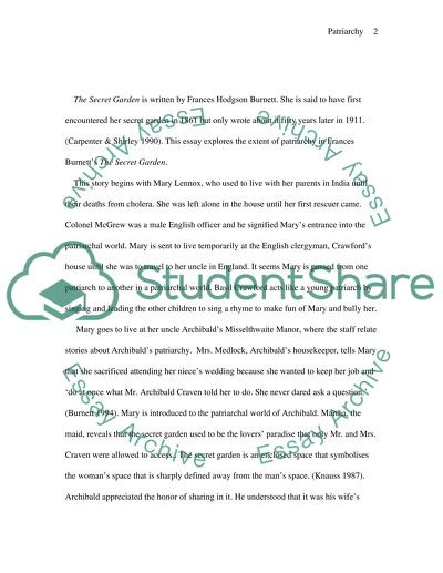 Research Paper Essay Example The Secret Garden By Frances Hodgson Burnett It Is Frequently Said Shows  Us The The Newspaper Essay also Business Strategy Essay The Secret Garden By Frances Hodgson Burnett It Is Frequently Said  Making A Thesis Statement For An Essay