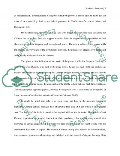 Dragon in China A Symbol of Empowerment essay example