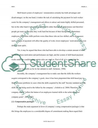 Lead Presentation Essay example