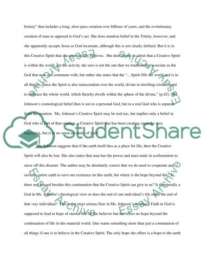 Critique essay example