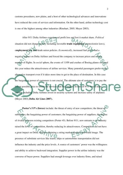 Strategic Management Research Paper essay example