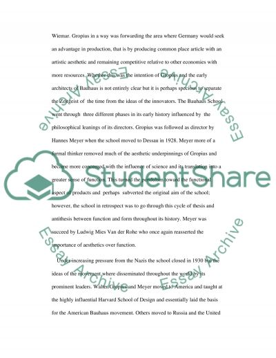 Design or Dogma essay example