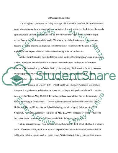 Write an one page essay