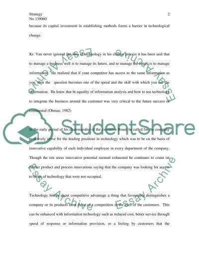 Dr. Von Gronberg strategies essay example
