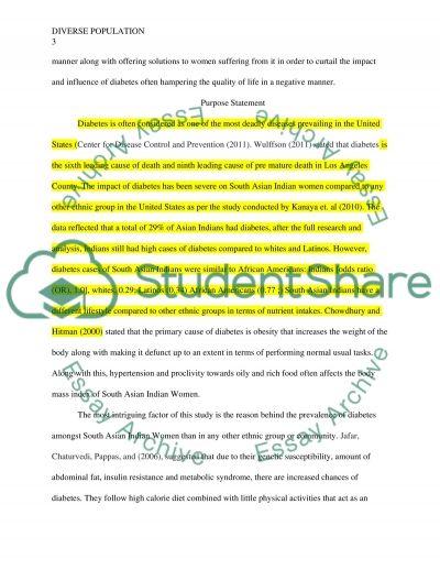 Diverse Population Nursing Essay essay example