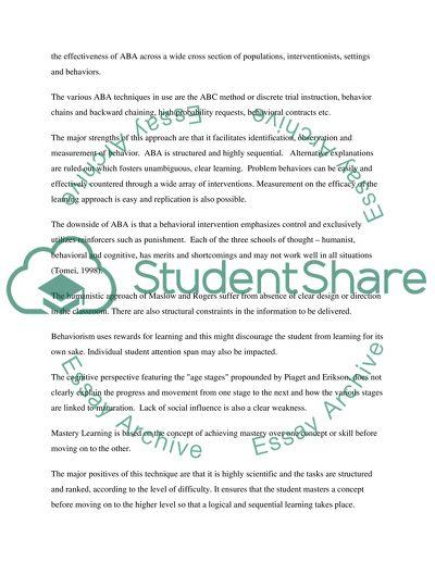 Great statement of purpose essays
