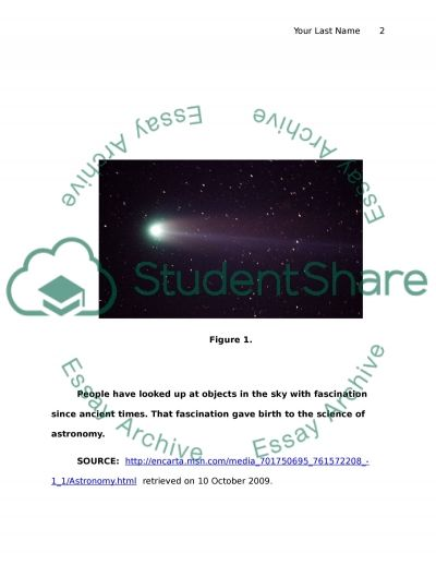 Astronamy essay example