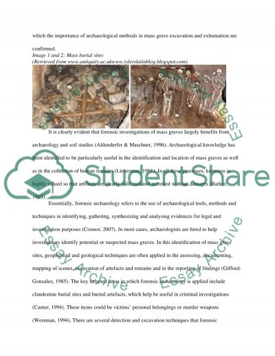 Introduction to Forensic Archaeology essay example