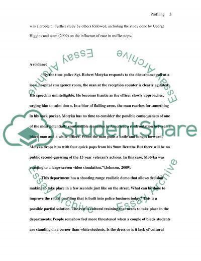 Racial Profiling essay example