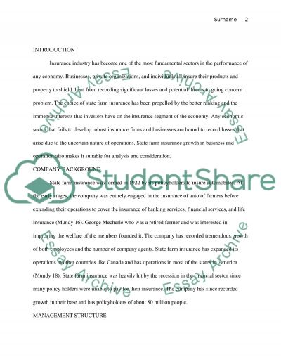 Business Financial Analysis essay example