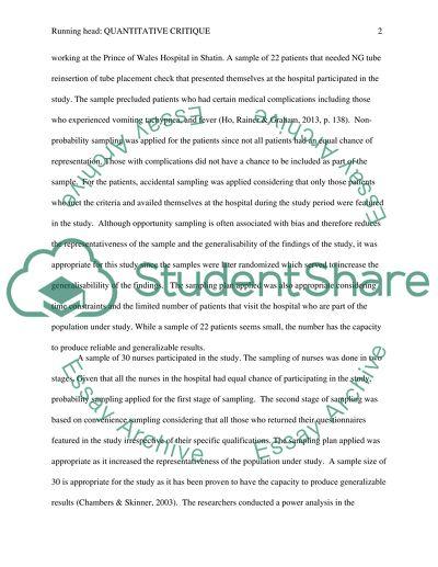 Quantitative Article #2