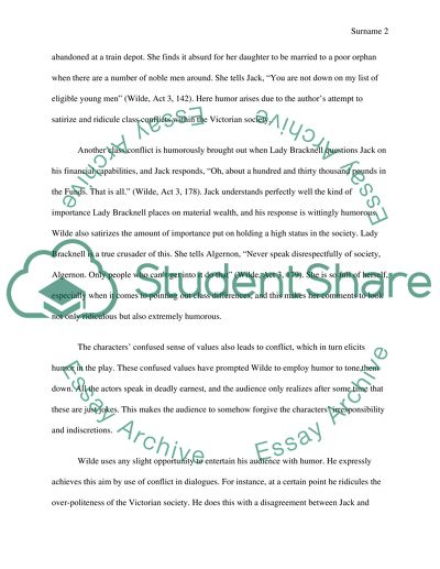 Essay On English Language The Importance Of Being Earnest How Conflict Contributes To Humor English Essay Outline Format also Thesis Statement Generator For Compare And Contrast Essay The Importance Of Being Earnest How Conflict Contributes To Humor Essay English Essays For High School Students