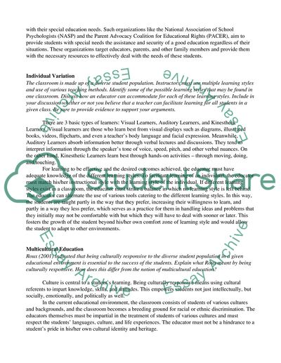 research paper on learning disabilities