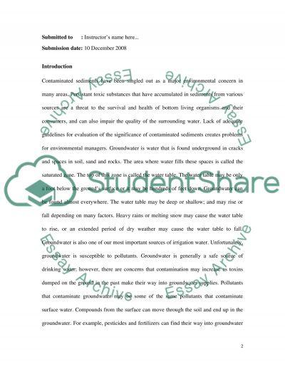 Geotechnics and Environmental Engineering essay example