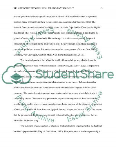 Environmental Health Historical Prespective essay example
