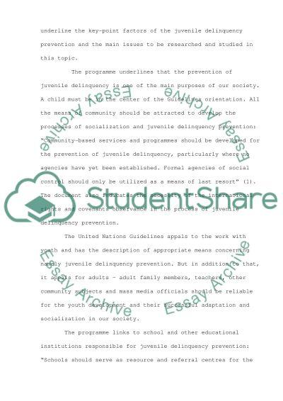 Criminal Justice High School Essay essay example