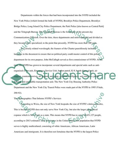 free essay about new york city