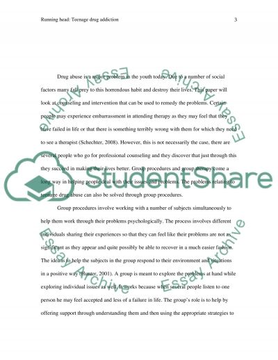 Group procedures/interventions essay example