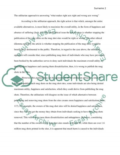 What Makes Right Acts Right and Wrong Acts Wrong essay example