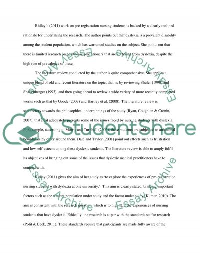 Its attached essay example