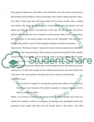 Cultural studies project on Media