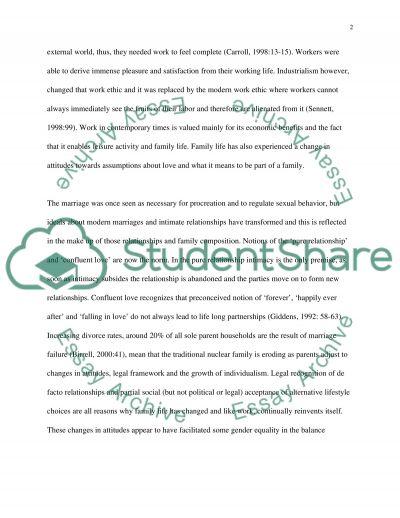 Sociology - Australia essay example