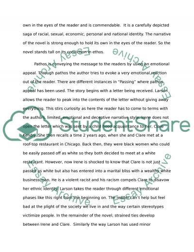 quicksand by nella larsen essay Suggested essay topics and project ideas for quicksand and passing part of a detailed lesson plan by bookragscom.