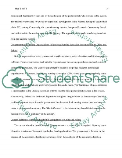 Nursing Education essay example