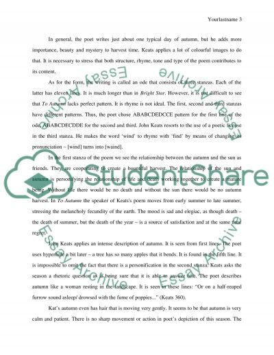 My Country Sri Lanka Essay English Ode To Autumn By John Keats Essay Health Promotion Essay also Book Report On The Help Ode To Autumn By John Keats Essay Essay Example   Words  Business Ethics Essay Topics