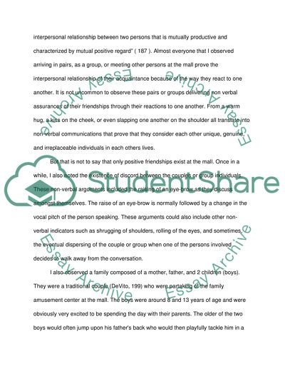 Science And Society Essay Nonverbal  Human Relationships Essay Essays About Business also Essays Written By High School Students Nonverbal  Human Relationships Essay Example  Topics And Well  How To Use A Thesis Statement In An Essay