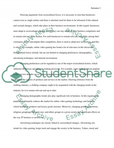 Some aspects of marketing essay example