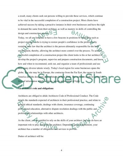 Construction Project Management essay example