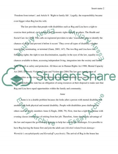 Safeguarding Adults essay example
