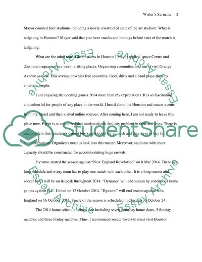Tourist Attraction Site Visit Essay Example Topics And Well Written Essays 500 Words