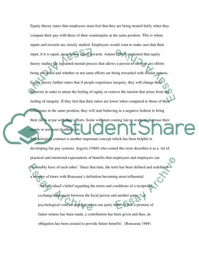 Fair Payment System essay example