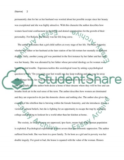 Exposotory Essay The House On The Mango Street Essay The House On Mango Street Essays Report  Web Fc Gay Essays also Hindi Essay On Mother Teresa Essays On Entrepreneurship And Management Essay On The House On  Rough Draft Essay