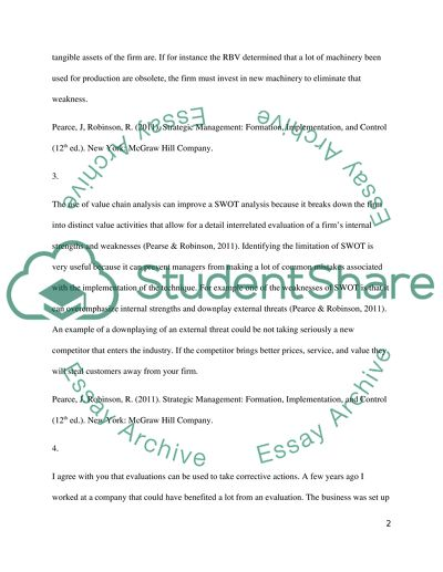 Discussion Questions and Participation - Marketing Essay