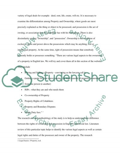 Commercial Law Dissertation essay example