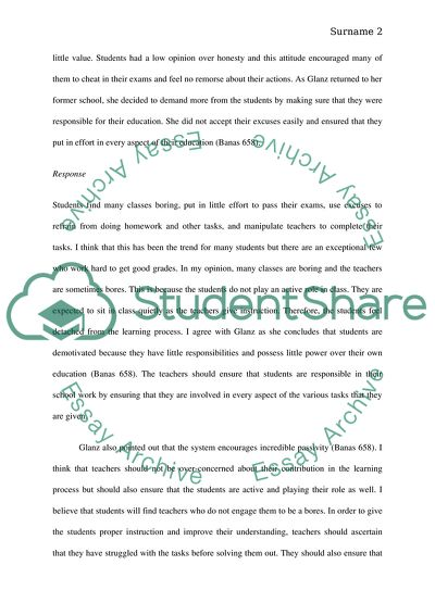 Whats wrong with school teacher play student, learns to lie and cheat