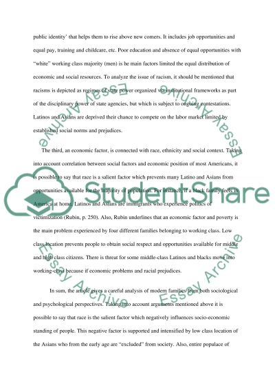 race and ethnicity in the classroom essay Narrative essay my reflection on diversity i did not care what race or ethnicity my i observed in the 2nd grade classroom how.