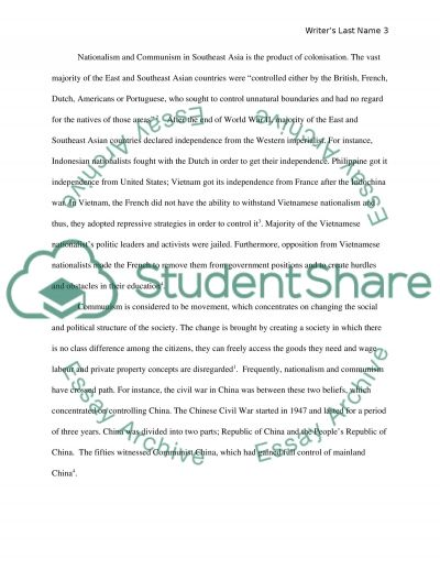 east asia history essay Sample essay activity from women in the muslim world.