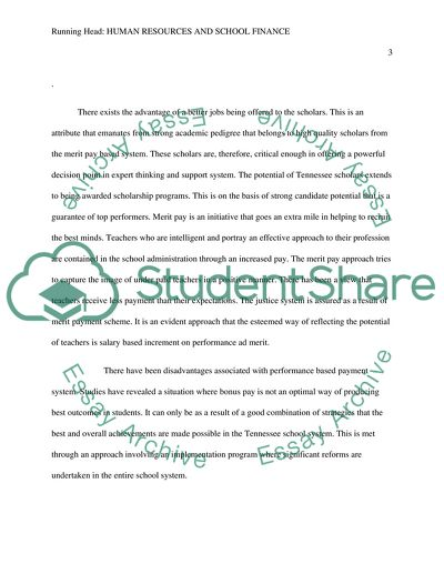 Business Aspects of the School Community Human Resources and School Finance - Dis 10