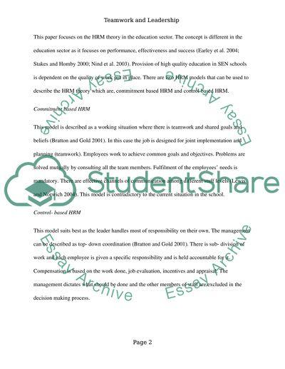 Leadership Essay Examples - Free Essay Samples on Leadership