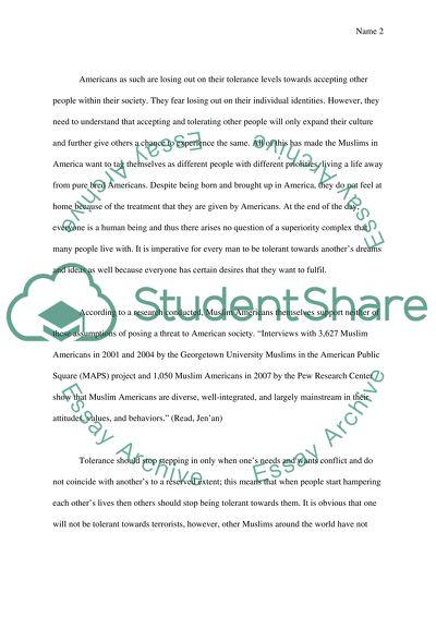 Essay student